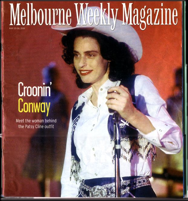 The Cover of the Melbourne Weekly