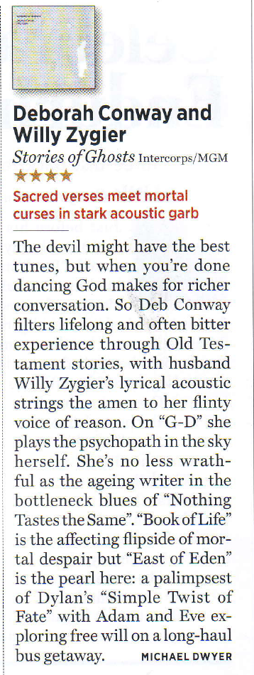 Stories Of Ghosts Rolling Stone Feb '13